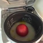 また作ってみた!ドーンと丸ごと入れちゃいます【トマトの炊き込みごはん】