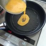 IHで作る薄焼き卵は140度で焼けば失敗知らず♪