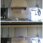 ずーっと気になっていたレンジフードを取り替えてキッチンがスッキリ生まれ変わりました