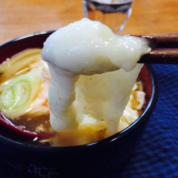 寒い日に食べたい鍋焼き力うどん