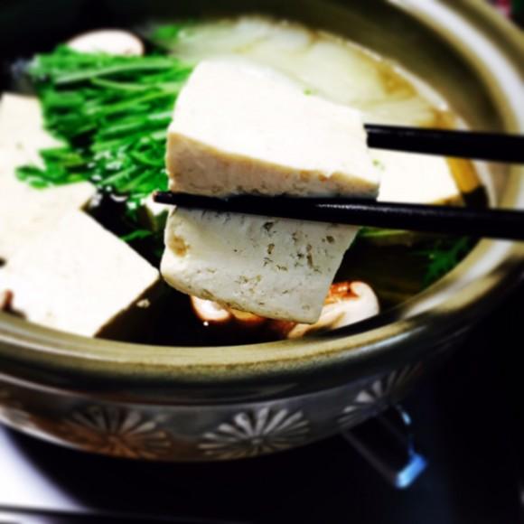 ただの湯豆腐