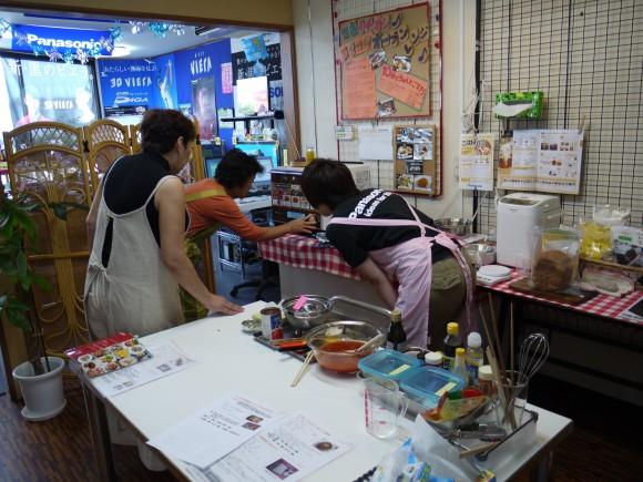 2011年8月第一回料理教室