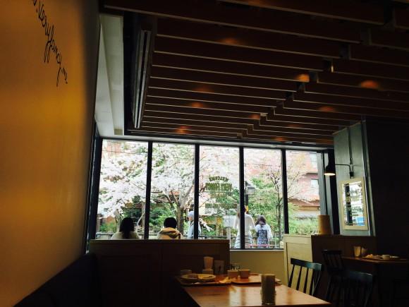カフェから見た風景