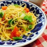 ラクして美味しく☆6月25日(土)の料理教室で作るのはこんなパスタ。