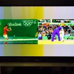 2画面機能を使ってオリンピックをもっともっと楽しもう!