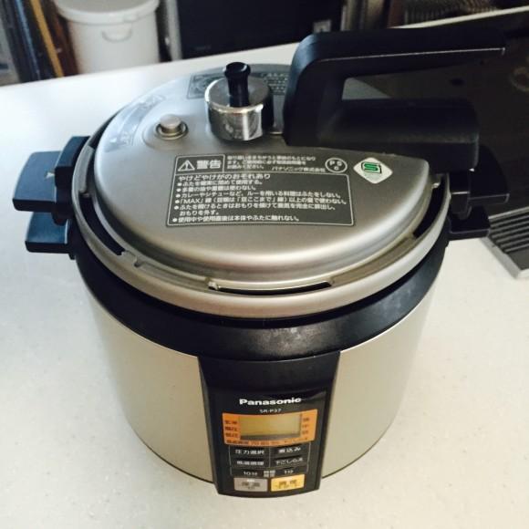 パナソニックの電気圧力鍋