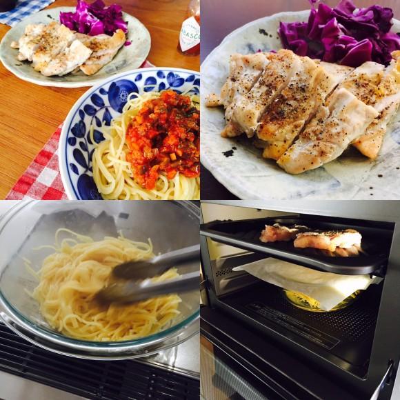 久しぶりに2段調理やってみたー