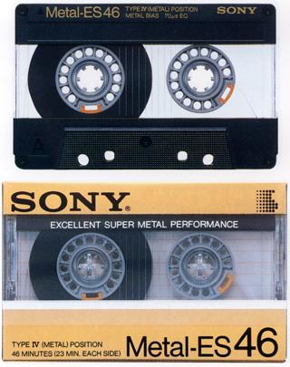 メタルテープ(by SONY)