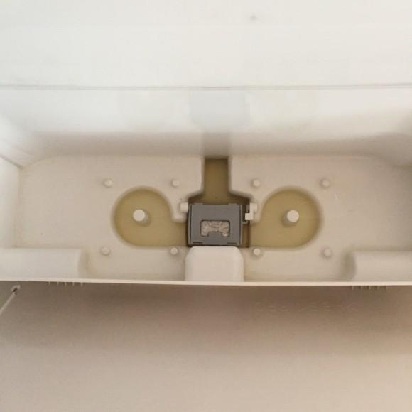 我が家の加湿器。タンクを外したところ。
