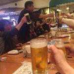 とりあえずビール!というかずっとビールで!!