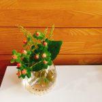 小学校の時の記憶を呼び起こしてくれた生け花体験。お花っていいね!