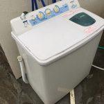 2槽式洗濯機は永久に不滅ですっ!
