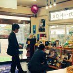 このブログを見て私の書いたPOPを見に新潟から来てくれたお二人のはなし。