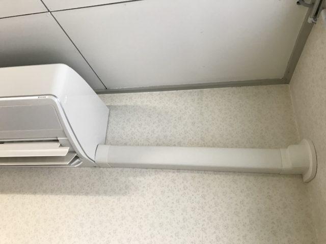 エアコン 配管 カバー 後付け
